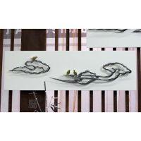 抽象壁饰挂件装饰画 现代酒店别墅高档会所墙上饰品金属雕塑工艺品 云纹一