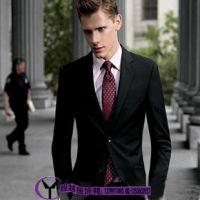 男士套装厂家直销 秋冬男士英伦修身商务西服套装 男士西装套装