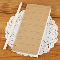 C209 牛皮纸便携周计划本子 复古商务笔记本日记本 韩国文具