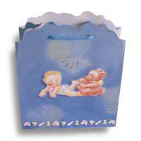 厂家直销250克白卡精巧卡通异形纸袋 手提袋 玩具配套袋子 小号型