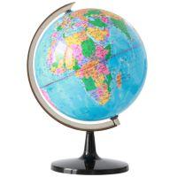 正品 得力3035地球仪 高清印刷地球仪 标准教学地球仪 儿童地球仪