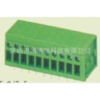 供应螺钉式/插拔式接线端子,5.0间距PCB端子台,接线柱