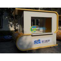 舒纳和实木花车 可移动的户外装饰花车 SNH-HC02