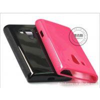 工厂 索尼lt26w Tpu清水套 手机保护套 手机壳 大量现货批发