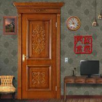 【热销推荐】专业生产全实木卧室门 高质量雕花原木门 品质保证