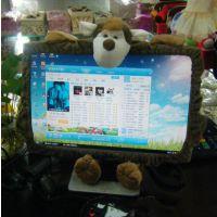 电脑装饰相关周边用品卡通电脑罩家居用品电脑圈电脑保护罩