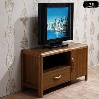 金美斯现代中式地柜 实木电视柜 客厅组合地柜中式电视柜组合