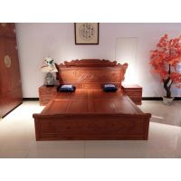 旭东红木家具缅甸花梨大床红木家具的种类花梨木床的价钱东阳红木家具十大品牌