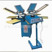 供应山东青岛T恤印花机,服装丝印机,手动印花机,配套烘干机