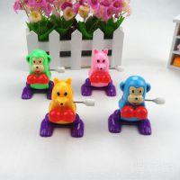 儿童玩具 翻跟斗360度空翻 上链翻斗动物 发条玩具卡通跳跳龙玩具