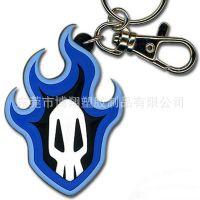外贸软胶钥匙扣订做 pvc环保软胶钥匙扣定制 公仔软胶钥匙扣厂家