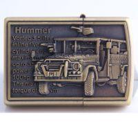 打火机厂家青铜浮雕打火机金属煤油打火机创意243-1C军事车