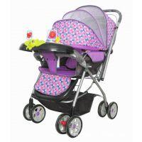 生产厂家供应龙祥品牌折叠式童车婴儿车婴儿手推车 轻便旅游伞车