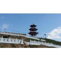 供应国内首创郑州天艺扇形河堤护栏塑料模具及产品