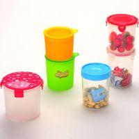 扣扣密封食品罐 干果罐 透明塑料密封罐