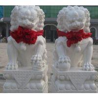汉白玉石狮子,山东石狮子,曲阳石狮子
