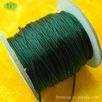 【DIY配件】编织手链项链的绿色绳子批发