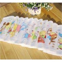 25*25蜂巢纱布手巾 纯棉婴儿卡通小方巾 宝宝专用手帕