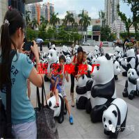 熊猫造型玻璃钢雕塑|厂家直销国宝雕塑|熊猫雕塑批发