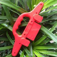 注塑模具厂专业注塑开发塑料二合一手把 购物袋手把 手把批发商