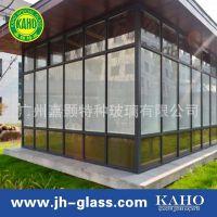 厂家价格直销  电动百叶玻璃  隔断用中空百叶玻璃  广州嘉颢特玻