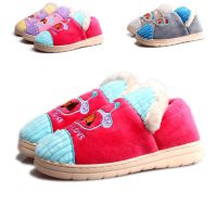2014款席乐棉拖鞋供应 卡通厚底包跟月子鞋 孕妇防滑保暖月子鞋