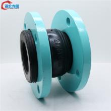 供应固定法兰式可曲挠橡胶软接头/双球橡胶软接头长度/国标橡胶软连接价格