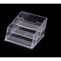 透明名片盒座,广告名片盒,展会名片盒,三格名片盒.多格名片盒