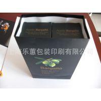 上海包装厂家直销 精美橄榄油套装|纸质手提袋纸盒子