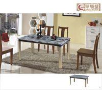 九龙壁厂家直销天然玉石家具 简约中式方桌茶桌 2014年新品上市