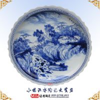 厂家生产景德镇陶瓷工艺盘 景德镇陶瓷赏盘定做