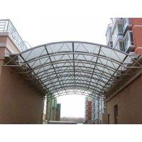 供应苏州小区走廊,过道,车棚顶棚专用透明防紫外线PC阳光板,厂家直销