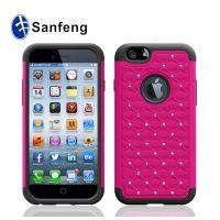 iPhone6二合一系列产品手机壳 超级满天星手机保护壳 免费拿货