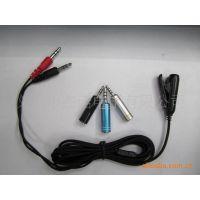 JS-3005 耳机麦克风转换线 电脑电视耳机连接线