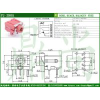 供应3.5MM耳机插座 3.5反功能耳机插座 开关插座制造商PJ-309A
