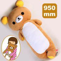 轻松熊抱枕 rilakkuma轻松小熊公仔系列靠垫坐垫枕头生日礼物