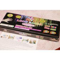 厂家批发彩虹织机Loombands 600 橡皮筋套装 黑盒套装