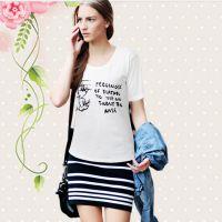 来自星星的你明星同款欧洲站女装 厂家一件代发纯棉米奇短袖T恤