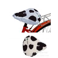 加工设计Q纹防水自行车座垫 斑点图案印刷单车套东莞车套厂家
