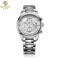 香港宾伦名表 多功能男手表  正品计时腕表 商务运动手表