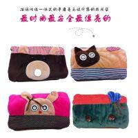 新款 韩版插手 卡通电热水袋 充电 防暴热水袋 双插手 电暖宝正品