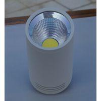 供应COB车铝明装筒灯,4寸车铝明装筒灯外壳,9W车铝明装筒灯