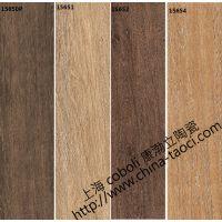 供应150x600粗纹理木纹防滑砖