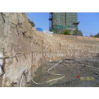 北京基坑支护  土钉墙 挂网喷浆施工