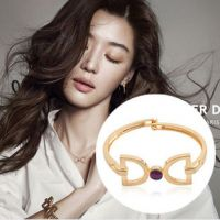 S8026 韩国韩版来自星星的你千颂伊全智贤佩戴蝴蝶结手镯手环