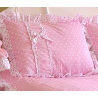 粉色公主系列枕套  2只装不含芯 韩式风公主家纺