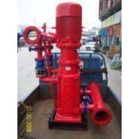 京天消防栓泵 XBD16.0/40-150L喷淋泵厂家 XBD5.0/45-150L 立式多级消防泵