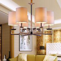 后现代简约中式吊灯具客厅餐厅卧室简欧LED水晶吊灯淘宝批发供货