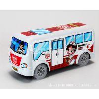 厂家直销 益智救护车 电动卡通巴士 益智玩具 儿童六一儿童节礼物