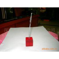 【鑫煜特卖】水晶胶树脂名片夹tm名片座 树脂名片夹 亚克力名片夹